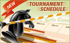 Battle Chess portal's tournament schedule